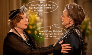 Lady Grantham's best one-liners + Let's grow together {Link-up #7}