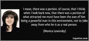 More Monica Lewinsky Quotes