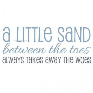 Sand And Beach Quotes