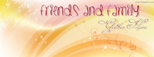 Friends and Family Gather Here Facebook Cover