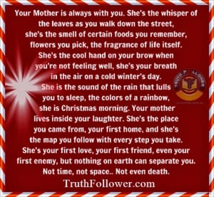 your mother is always with you a mother shows every emotion happiness ...