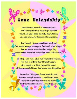 True Friendship Poems __true_friendship___by_mystic_ ...