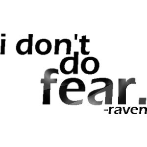 teen titans;; raven quote by lalalaa(: - Raven Denim
