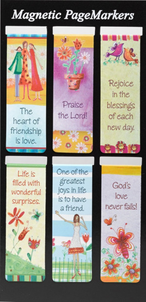 Christian Magnetic Bookmarks