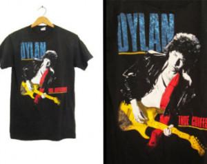 ... shirt True Confessions Tour Black Tom Petty 1987 - Medium / Large