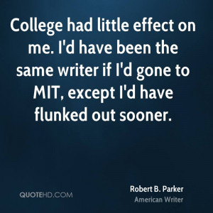 Robert B. Parker Quotes