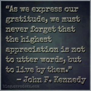 Expressing Gratitude Quotes