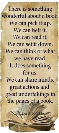 About a book.... by Gordon B. Hinckley