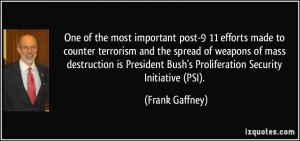 One of the most important post-9/11 efforts made to counter terrorism ...