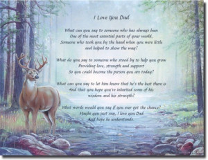 Happy Birthday Dad In Heaven Poem I love you dad!