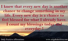 Everyday Is a Blessing Quotes | Everyday Is a Blessing - News ...