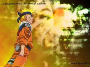 Download Naruto wallpaper, 'Naruto Quote'.