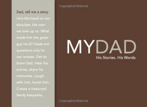 My Dad - His Story, His Words - Christmas Presents for Dad