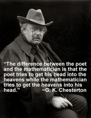 Engineering Quote of the Week - G. K. Chesterton