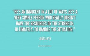 Innocence Quote