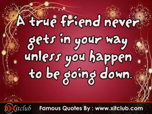 Most Famous Friendship Quotes