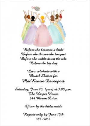 Bridesmaid Bachelorette Invites areBecoming Very Popular!