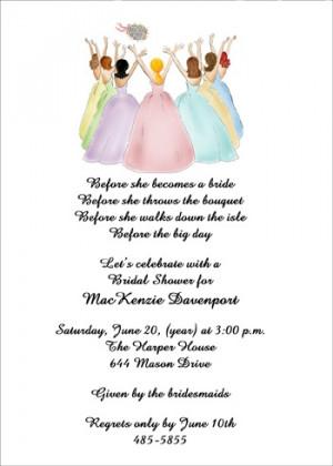 Bridesmaid Bachelorette Invites areBecoming Very Popular!