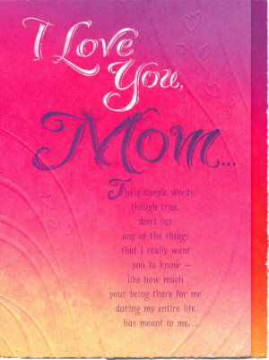 Back > Quotes For > Cute Happy Birthday Mom Quotes