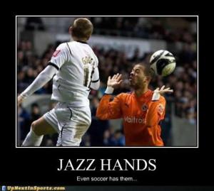 Jazz hands...even soccer has them! #Soccer #CSR #Bizitalk: Soccer Mi ...