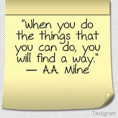 quotes from a a milne