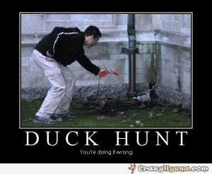 Funny Duck Hunting Quotes Duck-hunt-doing-it-wrong.jpg