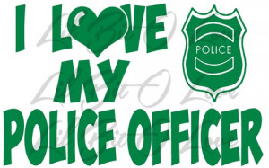 love_my_police_officer_vinyl_car_decal_cop_officer_girlfriend_wife ...