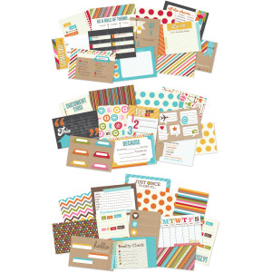 Simple Stories Sn@p Cardstock Quote Cards Fill In The Blanks 4'' x 6 ...