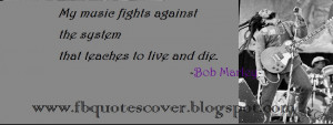 Bob Marley S Best Quote Facebook Cover Pagecoverscom