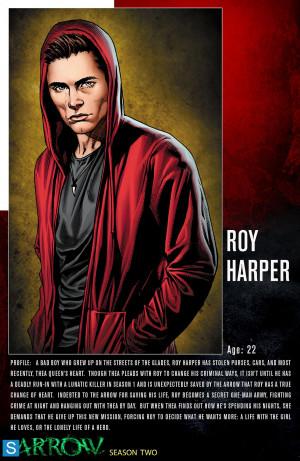 Arrow Arrow - Season 2 - Character Profile Comic Sheets
