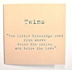 Twins twin sayings More