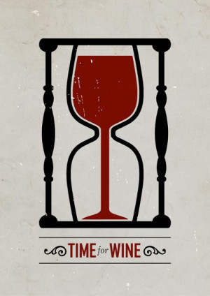 Clever Graphics poster Time for wine Clever Graphics (5 posters)