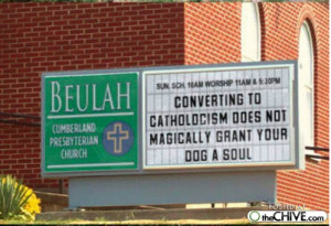 Church Signs Sayings Funny...