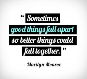 Better things are coming to you