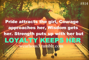 quotes about being loyal in a relationship