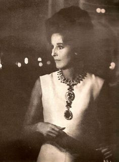 Babe Paley in Simply Elegant Sheath Dress w Dramatic Jewelry More