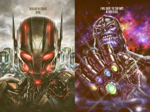 cool pieces featuring Ultron from the upcoming Avengers: Age of Ultron ...
