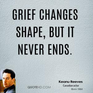 Grief changes shape, but it never ends.