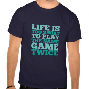 Gamers Life Quote Funny T-shirt
