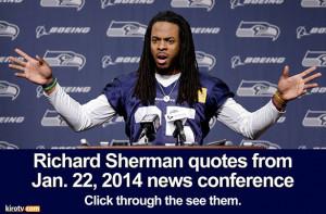 Richard Sherman Family Richard sherman quotes