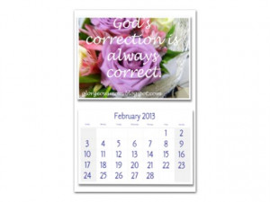 Monthly Calendar Quotes for 2013