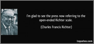 More Charles Francis Richter Quotes
