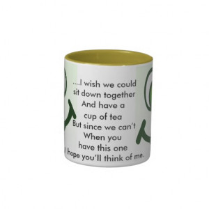 Happy tea sayings no 5 mug