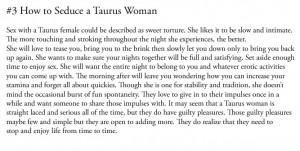 seduce a taurus woman Zodiac Heavens, Taurus 3, Totally Taurus, Taurus ...