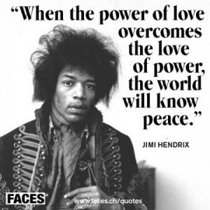 Jimi Hendrix quote