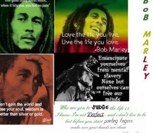Bob Marley Wallpaper Quotes...