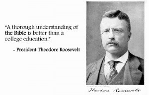 Theodore Roosevelt, 26th American President (Term: 1901-1909)