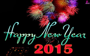 Wish you a Happy New Year 2015 wallpaper in HD
