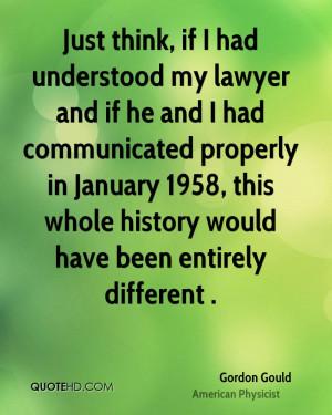 Gordon Gould Quotes