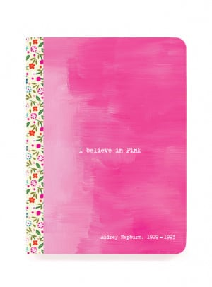 Pink Colourful Quotes Notebook